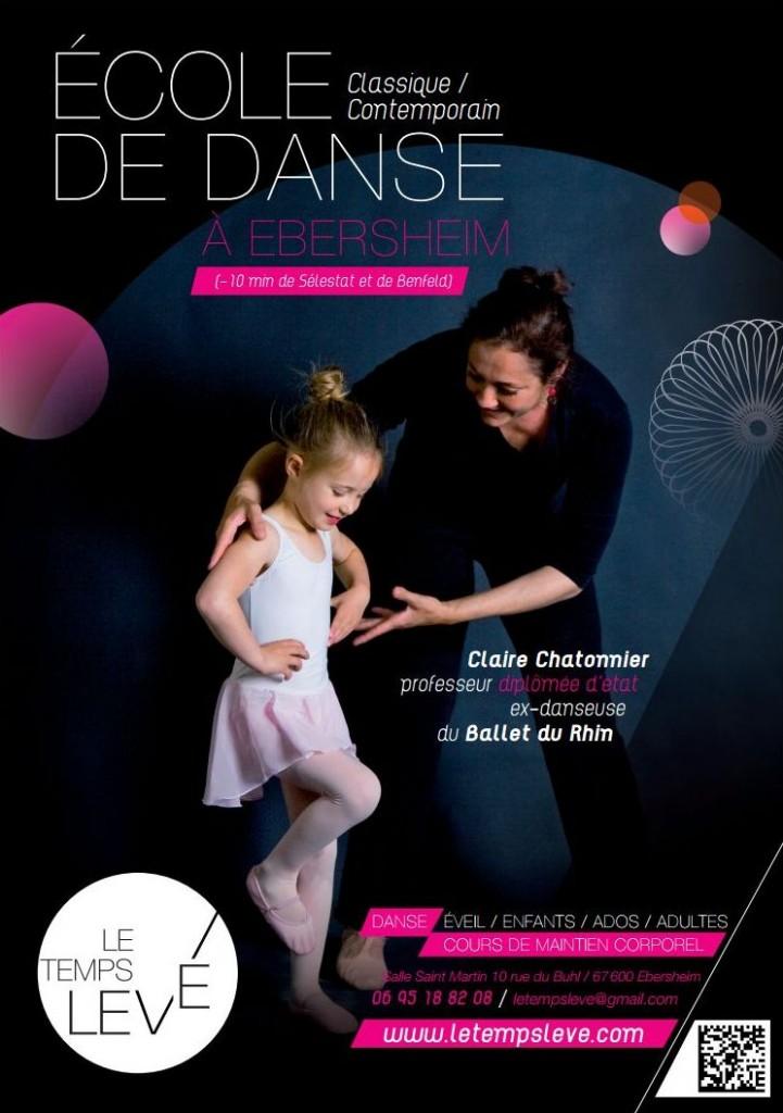 Danse Selestat Le Temps Levé Affiche 2014